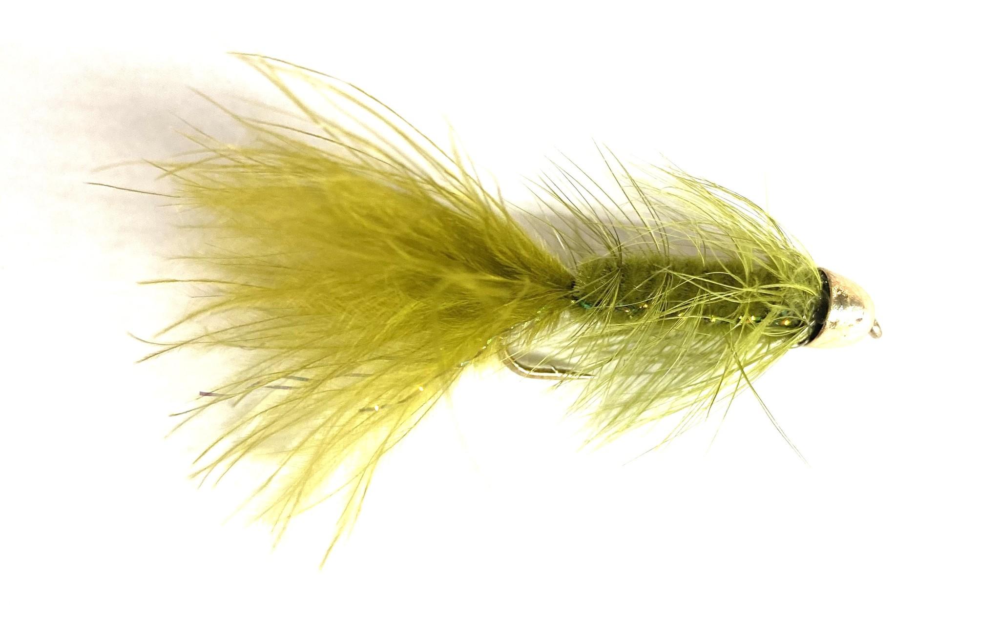 Solitude Fly Company Beldar Bugger Olive