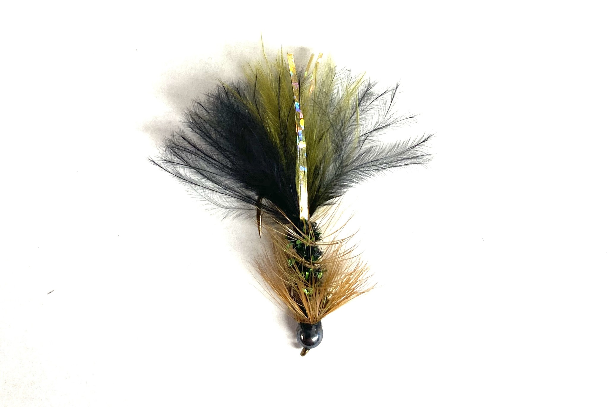 Solitude Fly Company Bead head Pop's Bugger