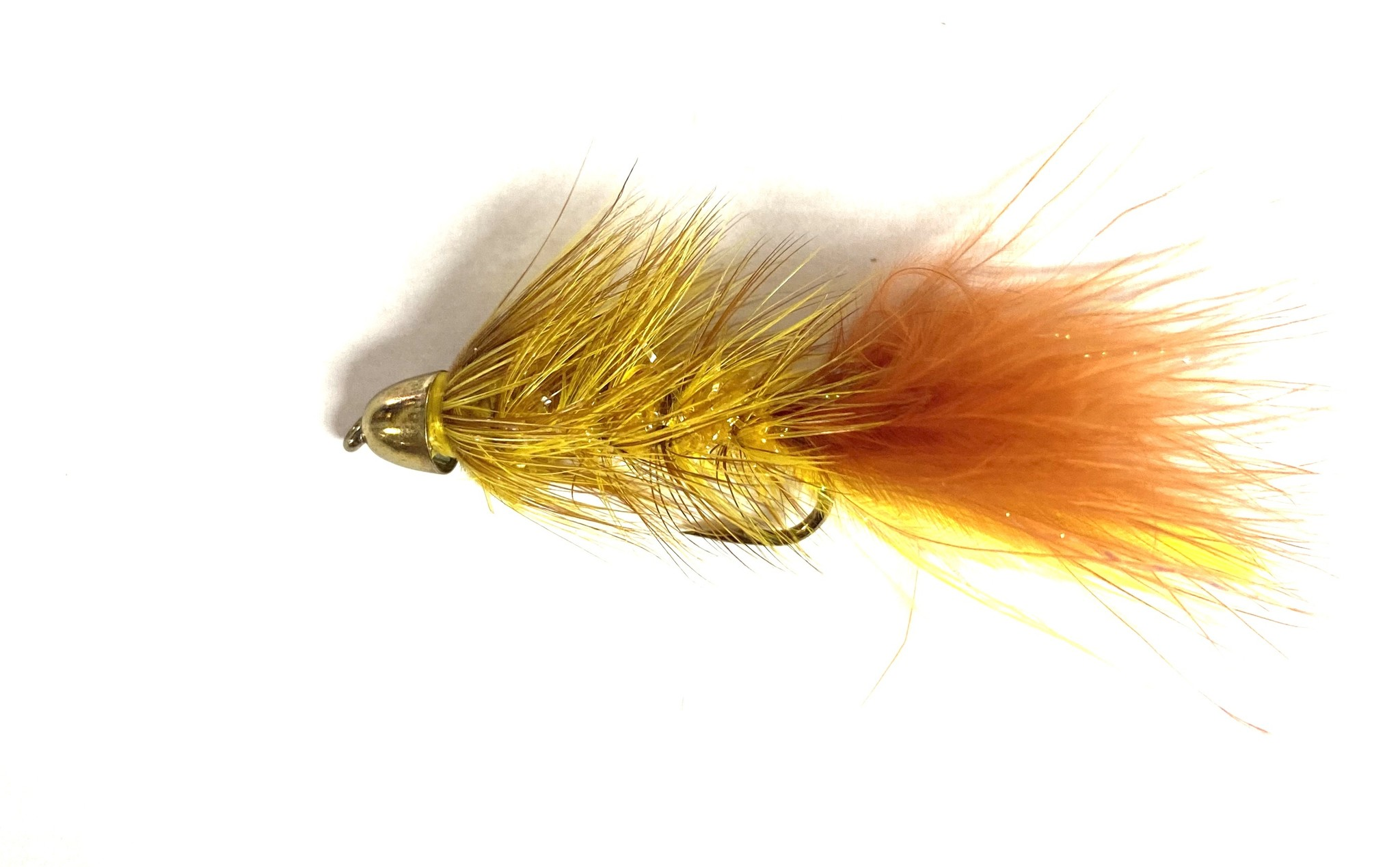 Solitude Fly Company Beldar Bugger Yellow/ Brown