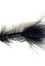 Solitude Fly Company Cone Head Woolly Bugger Black