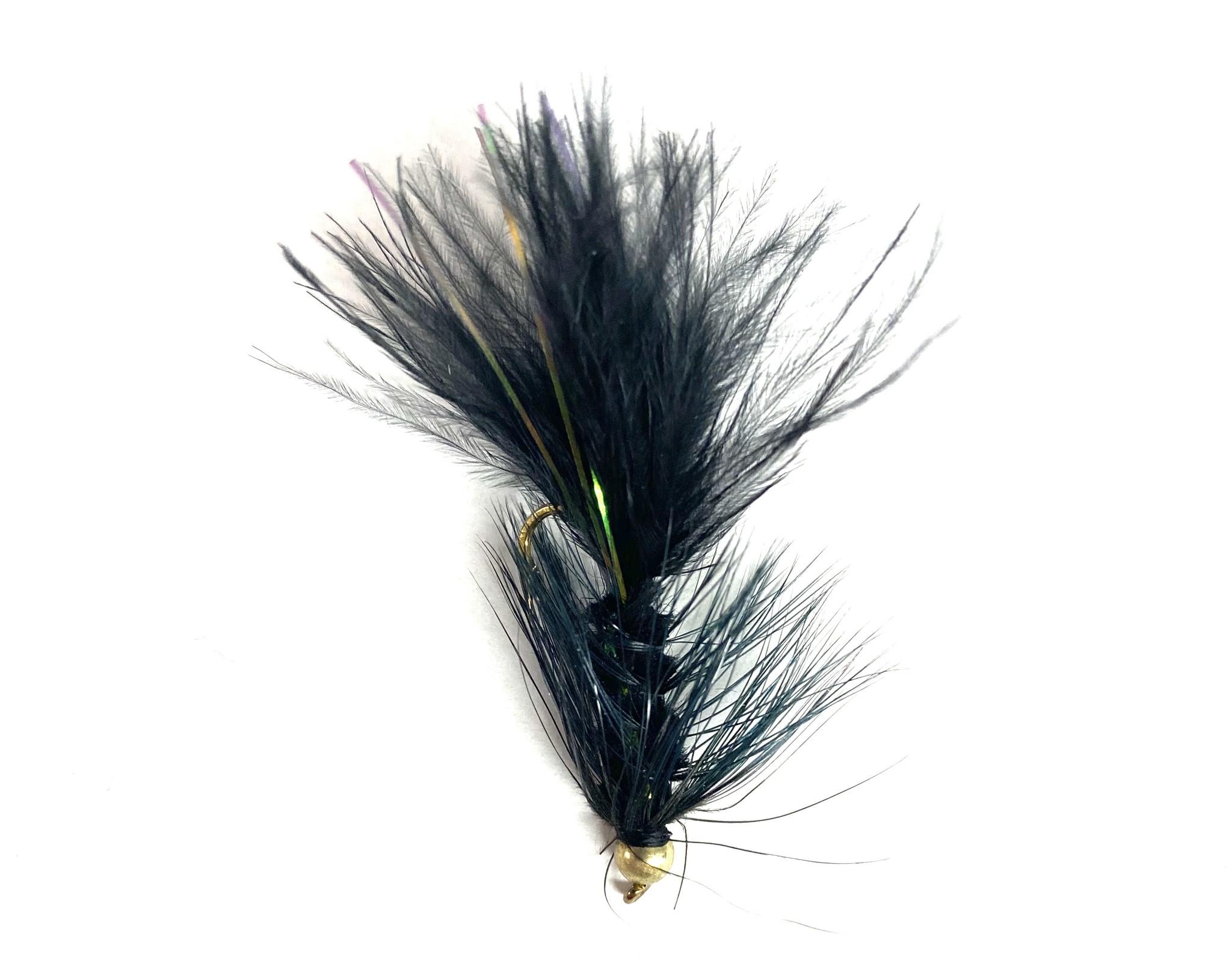 Solitude Fly Company Bead Head Flashabou Bugger
