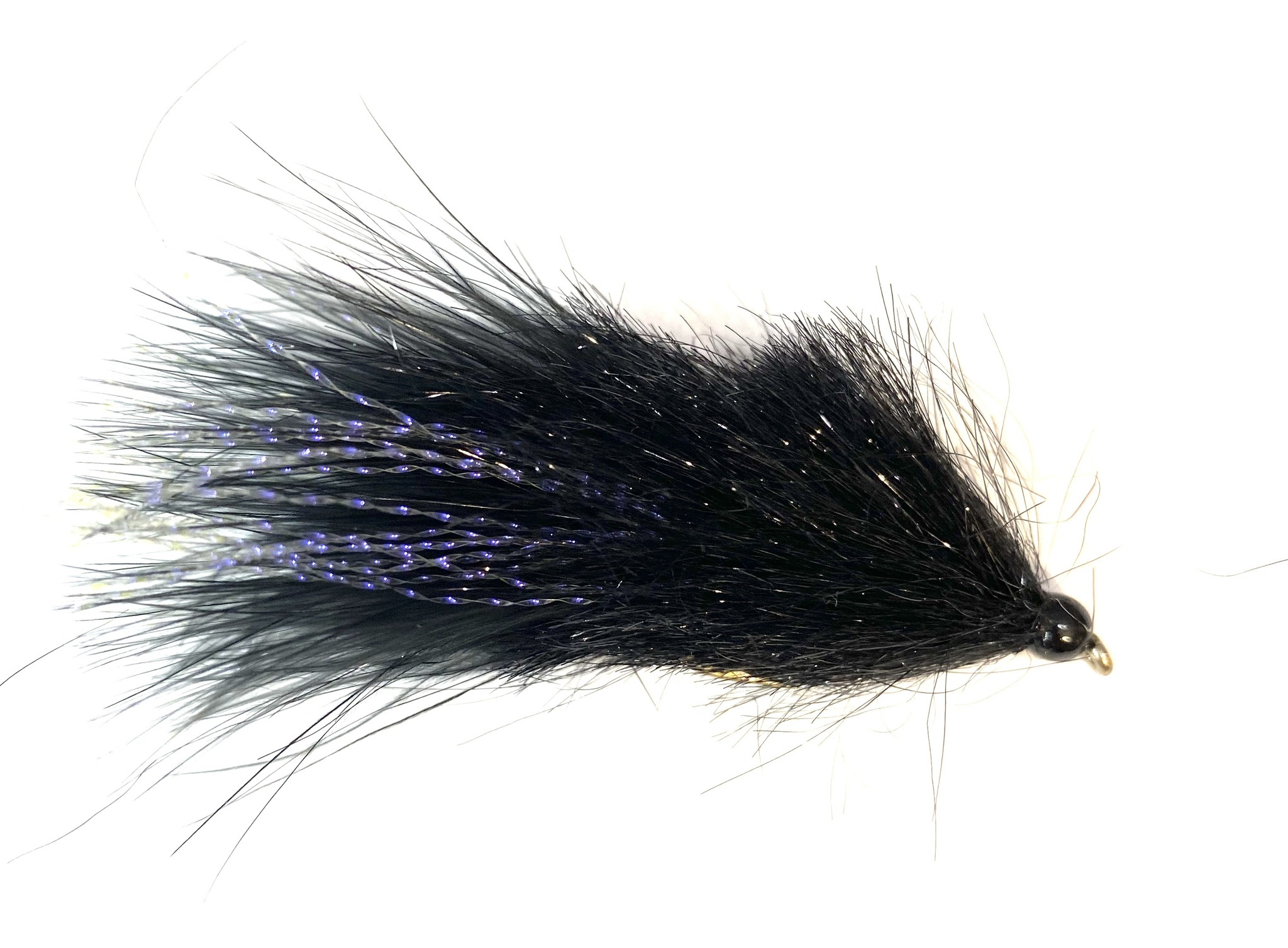 Montana Fly Company Coffey's Sparkle Minnow Black Light