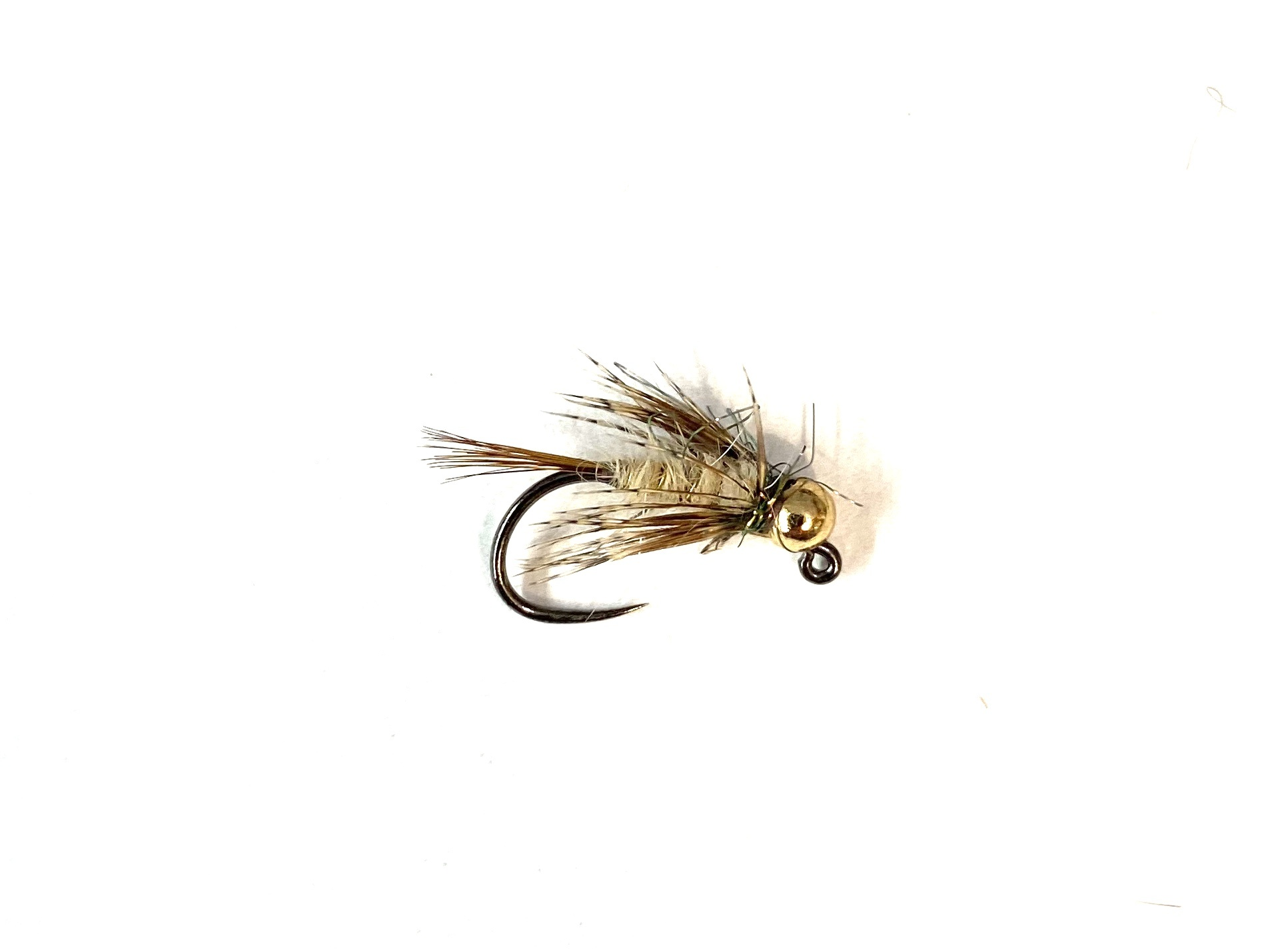 Fulling Mill Soft Hackle Hares Ear Jig