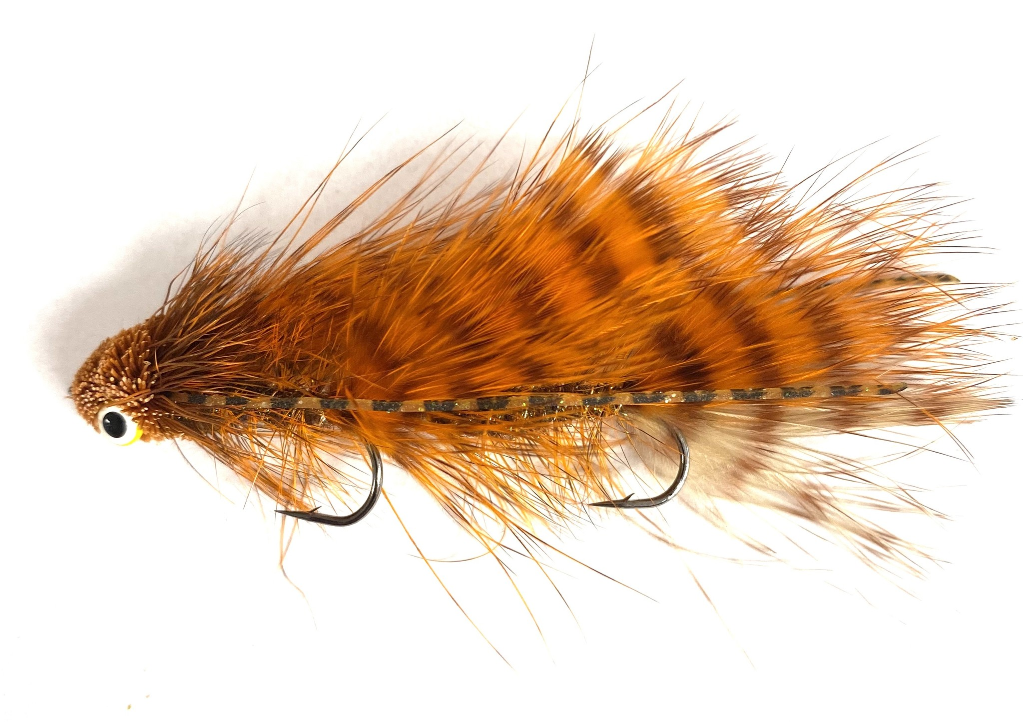 Montana Fly Company Galloup's Mini Dungeon Orange