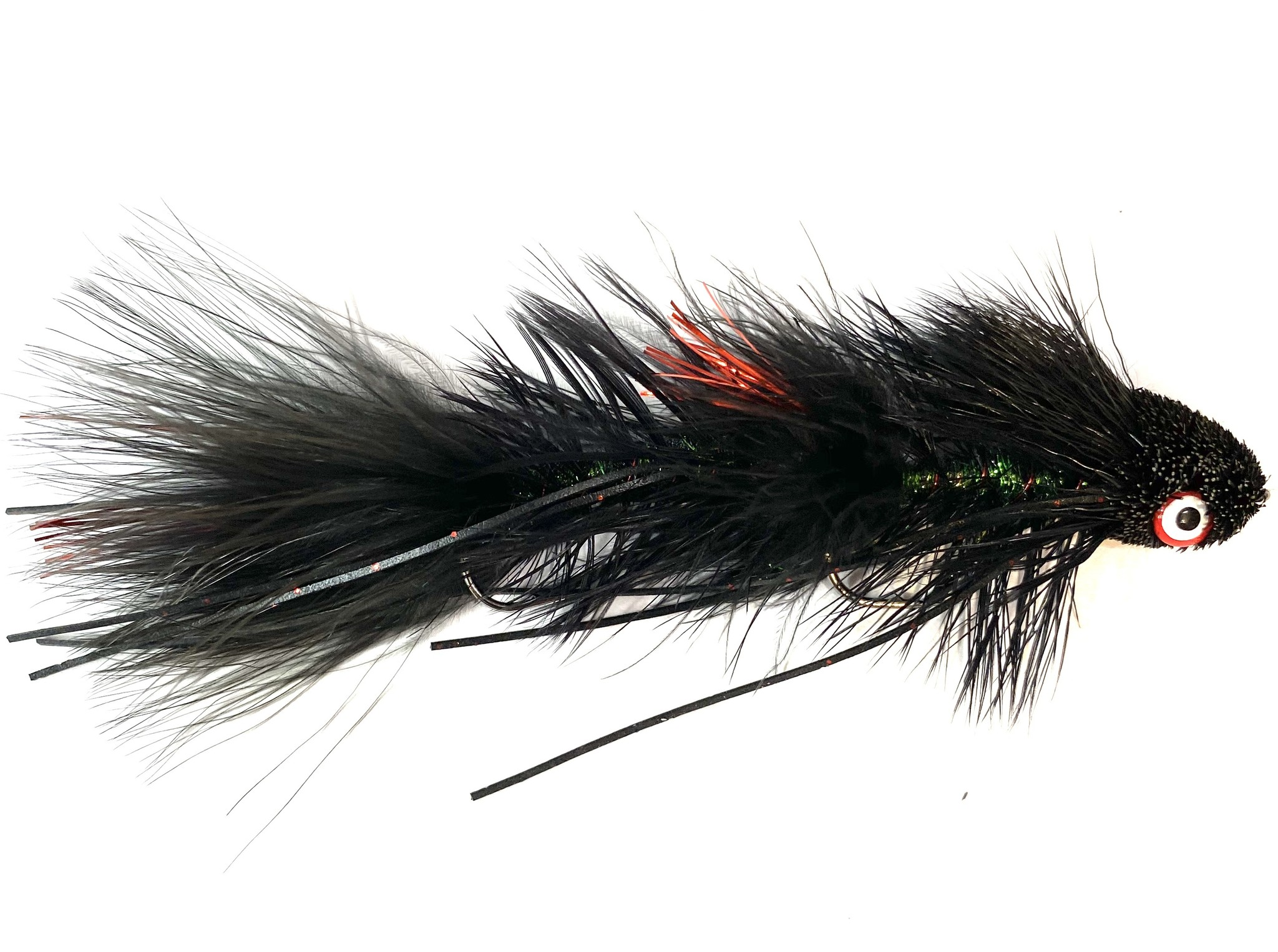 Montana Fly Company Galloup's Sex Dungeon Black