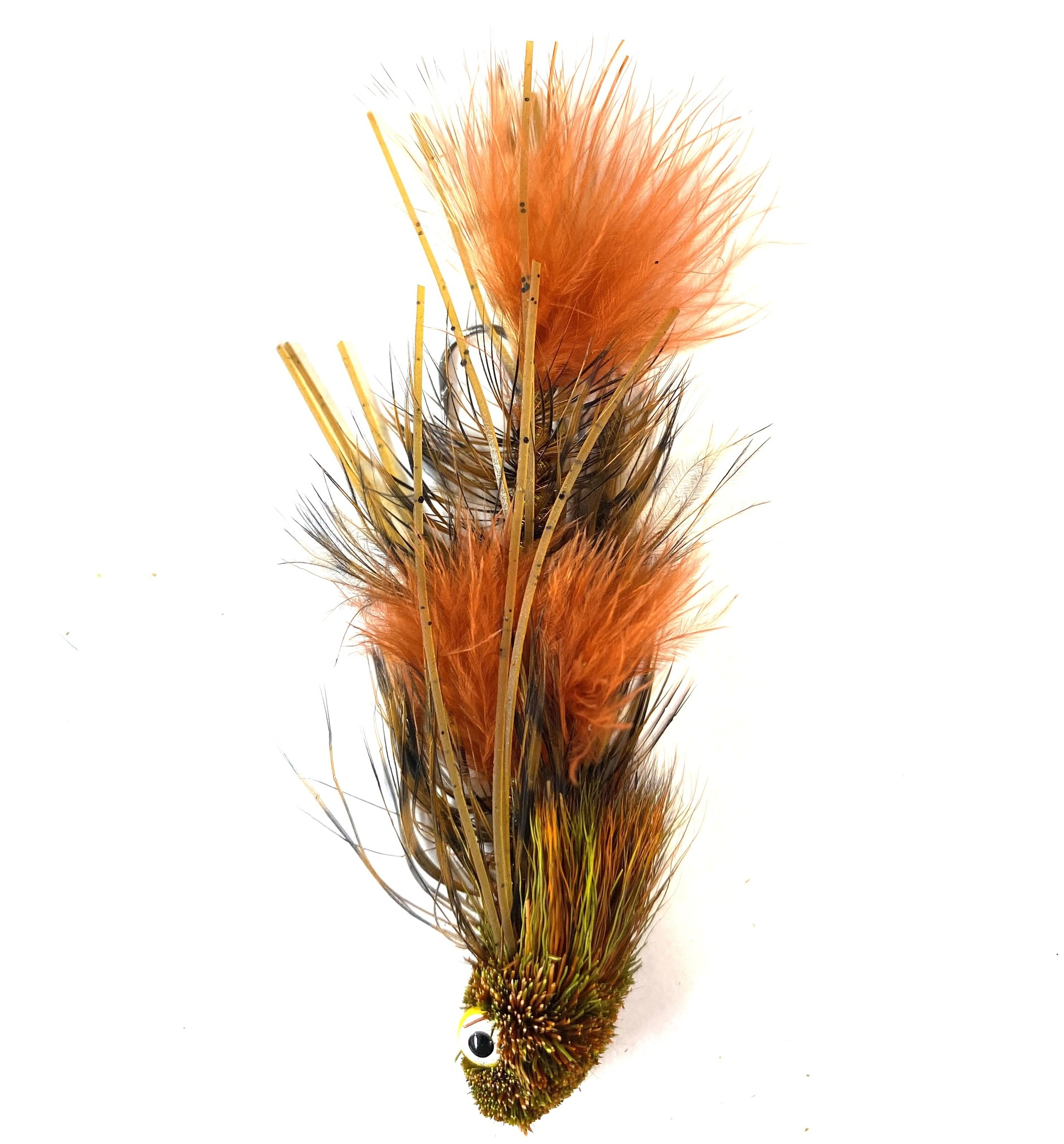 Montana Fly Company Galloup's Sex Dungeon Craw Orange