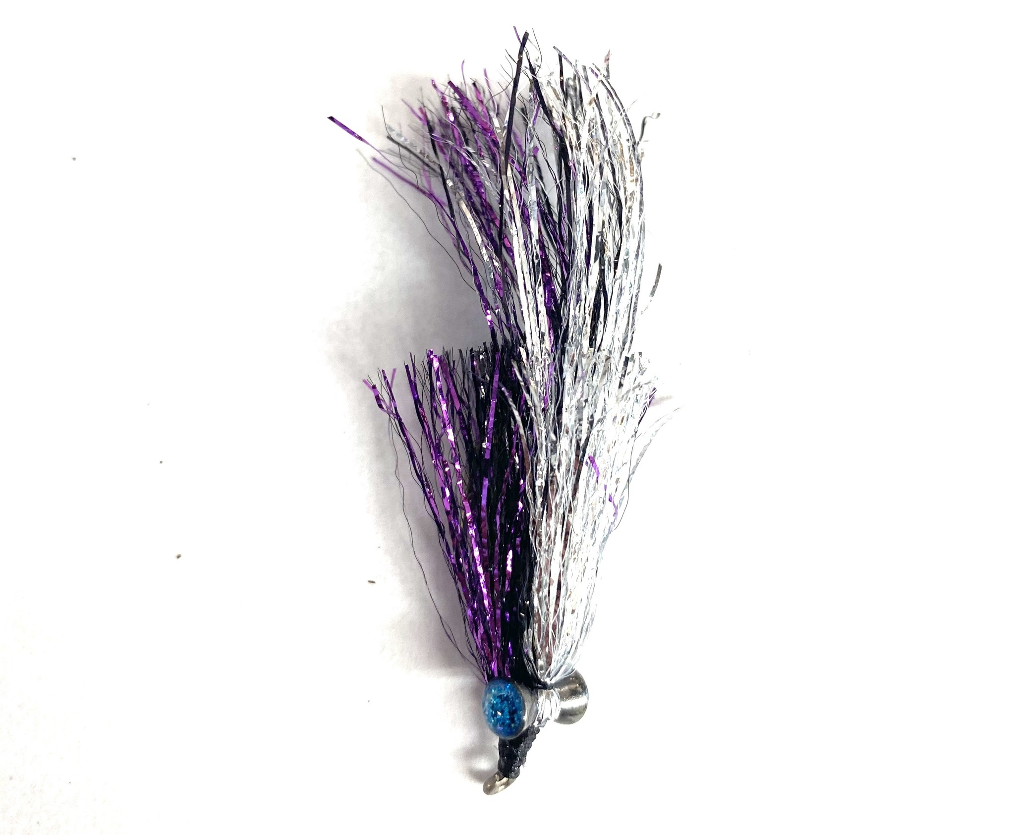 Montana Fly Company Kraft's Kreelex Black/ Silver/ Purple