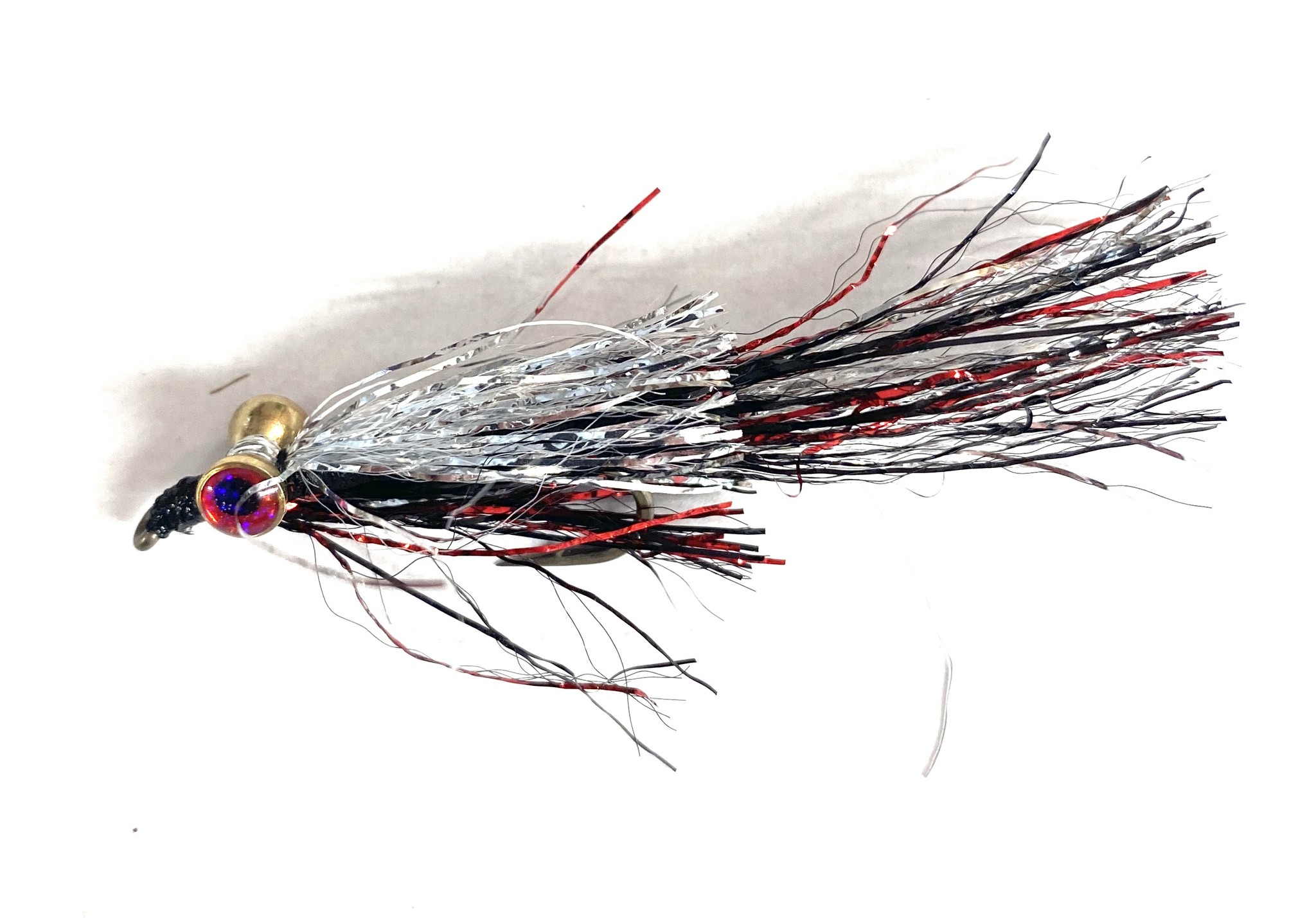 Montana Fly Company Kraft's Kreelex Black/ Silver/ Red