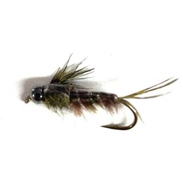Solitude Fly Company Bead Head Anitomical Green Drake