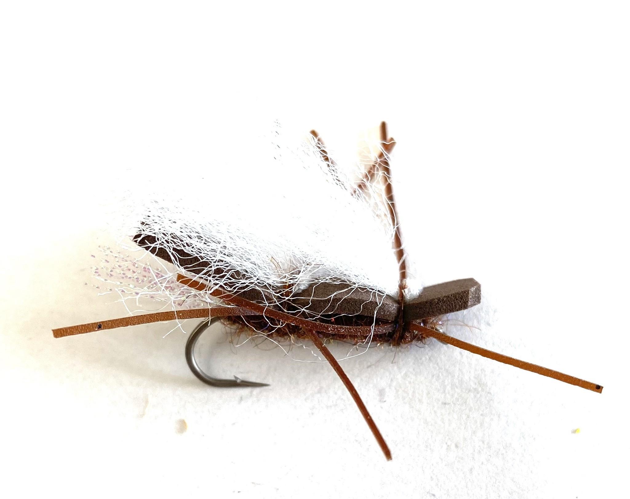 Chubby Chernobyl Salmon Fly Gray Wing