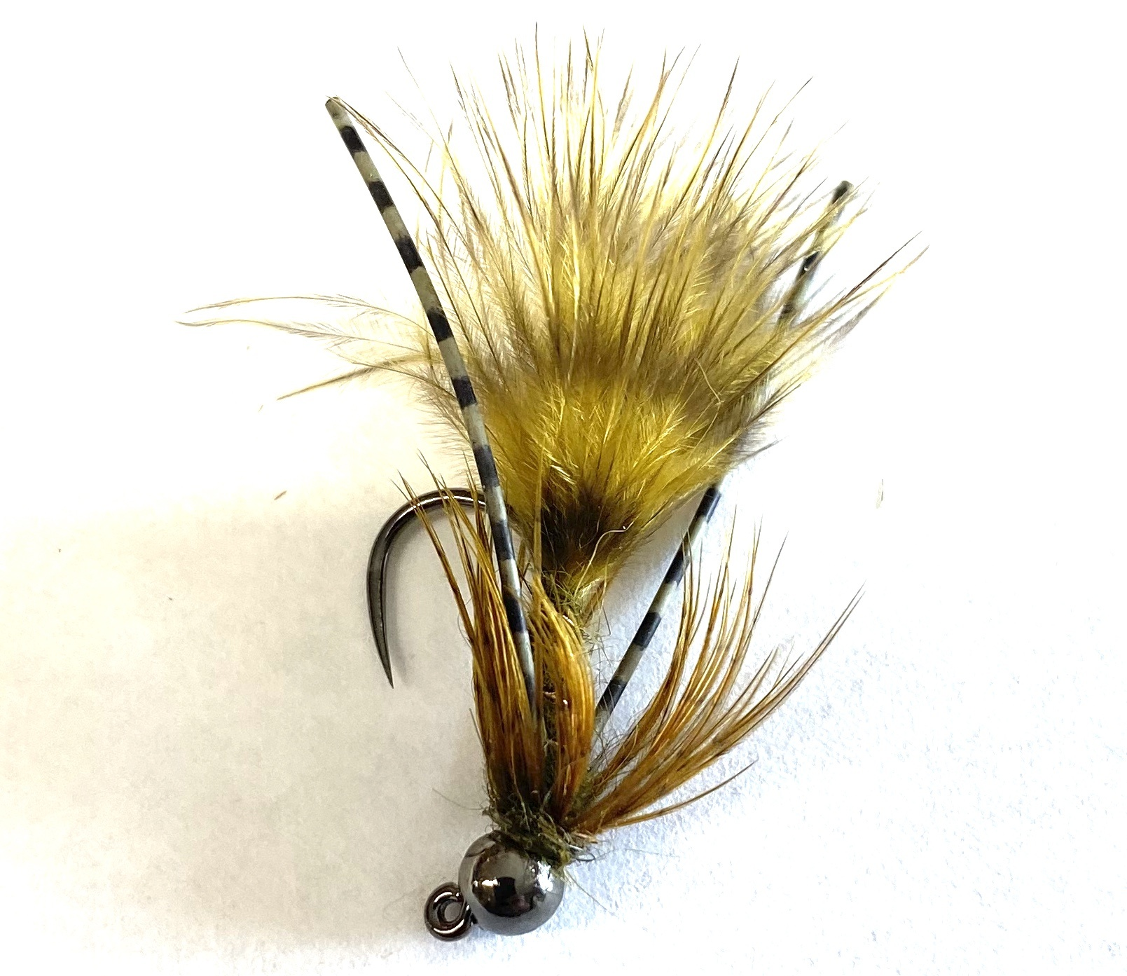 Fulling Mill Tungsten Jig Bugger Olive
