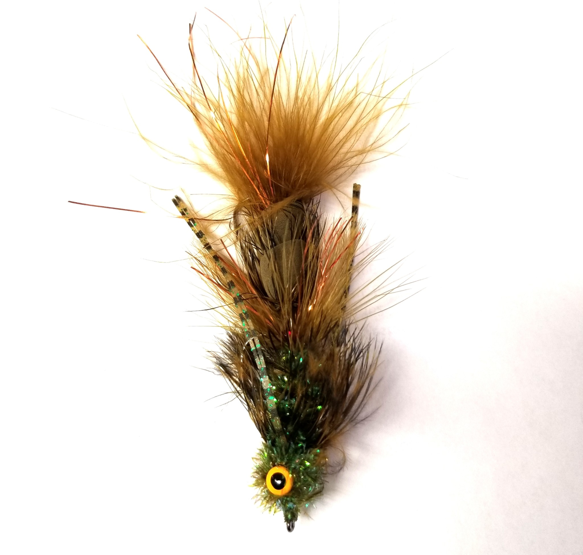 Montana Fly Company Galloup's Tips Up Olive