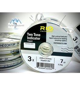 RIO Rio Two-Tone Indicator Tippet 3X