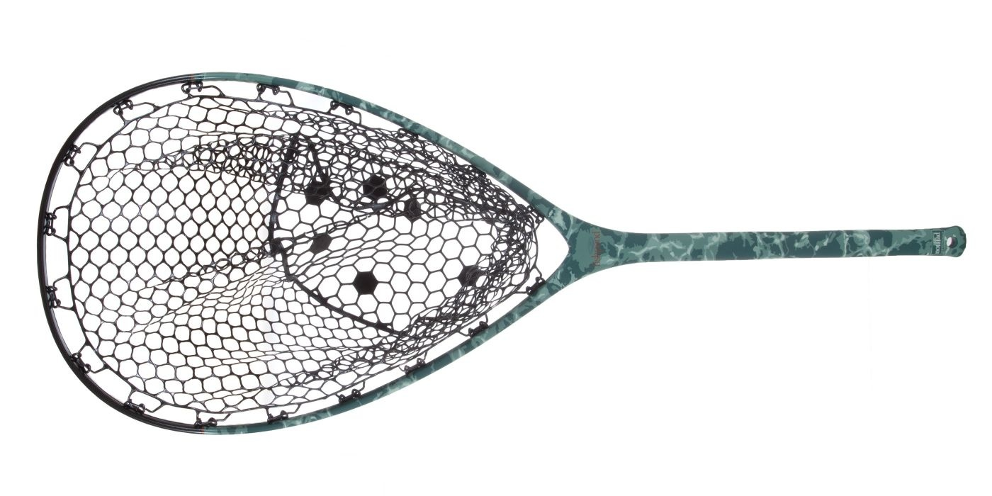 Fishpond Nomad Mid-Length Boat Net - Salty Camo