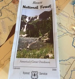Routt National Forest Map
