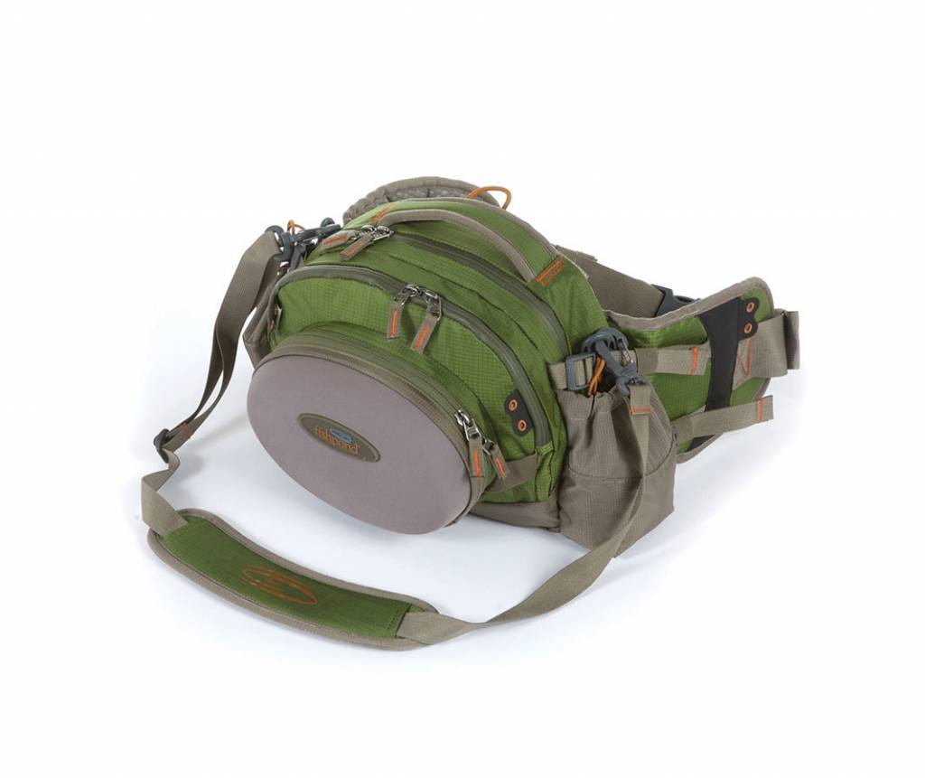 Fishpond Yampa Guide Lumbar Pack - Cutthroat Green