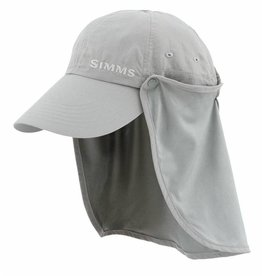 Simms Bugstopper Sunshield Hat Smoke