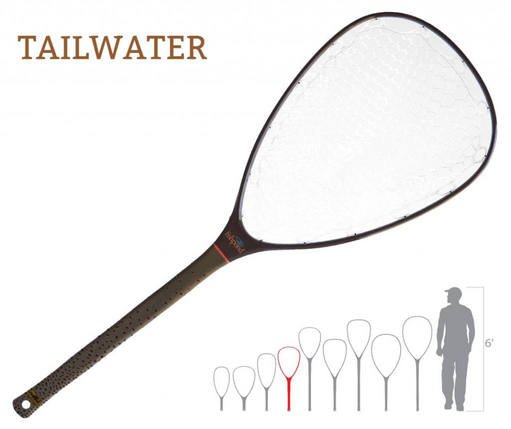 Nomad Mid-Length Net - Tailwater