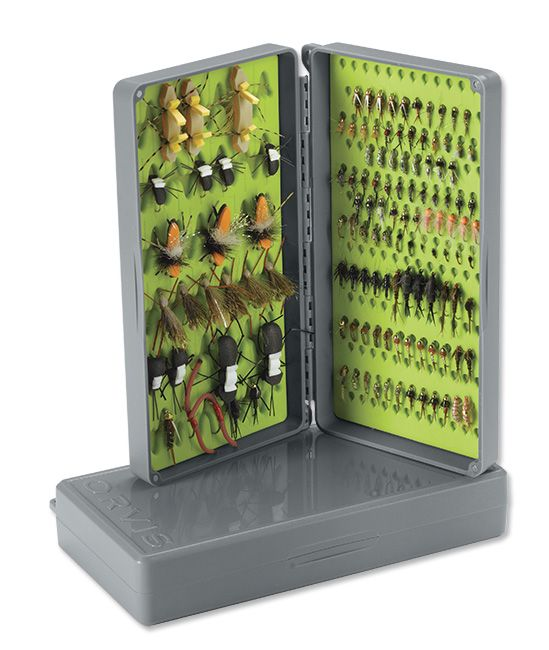 Orvis TACKY DROPPER BOX GREY