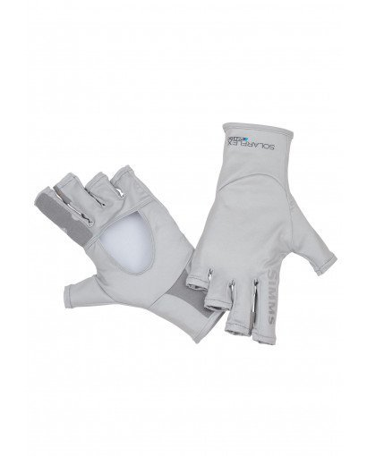 Simms Fishing Solarflex Sungloves ASH