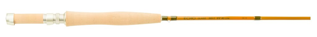 "Echo ECHO FIBER GLASS #4 8'6"" 4 Piece Fly Rod"