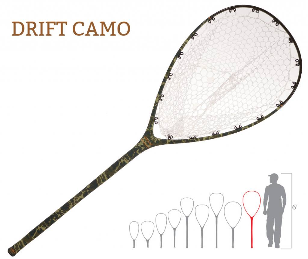 Fishpond Nomad Boat Net- Drift Camo