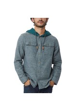 10 Tree Arthur Button Up Hoodie Men's