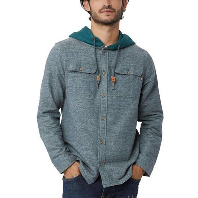 Arthur Button Up Hoodie Men's