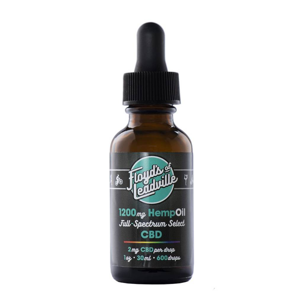 Floyds of Leadville CBD Full Spectrum Tincture 1200 mg