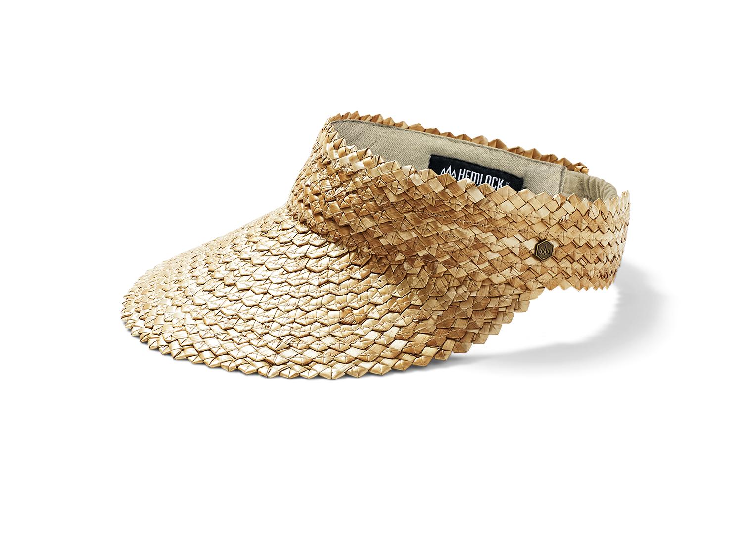 Hemlock Hats Hemlock Capri Visor Honeycomb