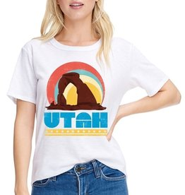 Zutter Utah Arch Graphic Top