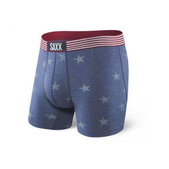 SAXX Vibe Boxer - Chambray Americana