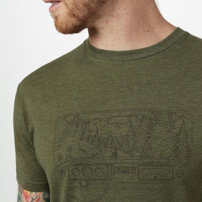 Nomad Tee Men's Green Moss