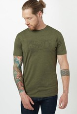 Tentree Nomad Tee Men's Green Moss