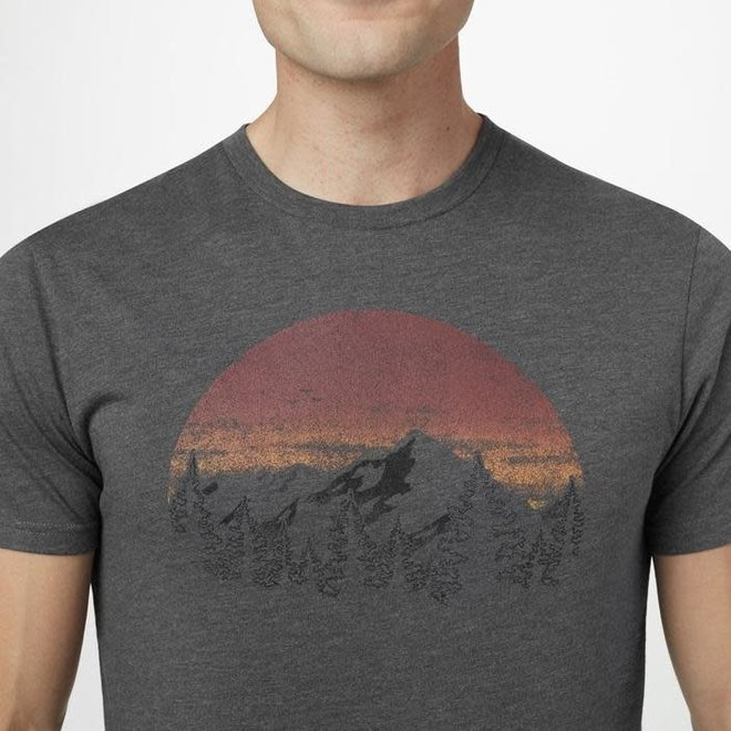Vintage Sunset Tee Men's (Grey)