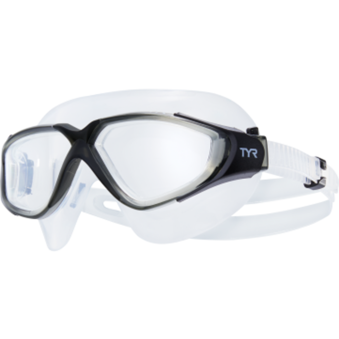 TYR Rogue Swim Mask Adult Grey/Black
