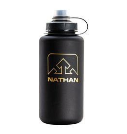 Nathan BigShot 1 Liter Bottle Black/Gold