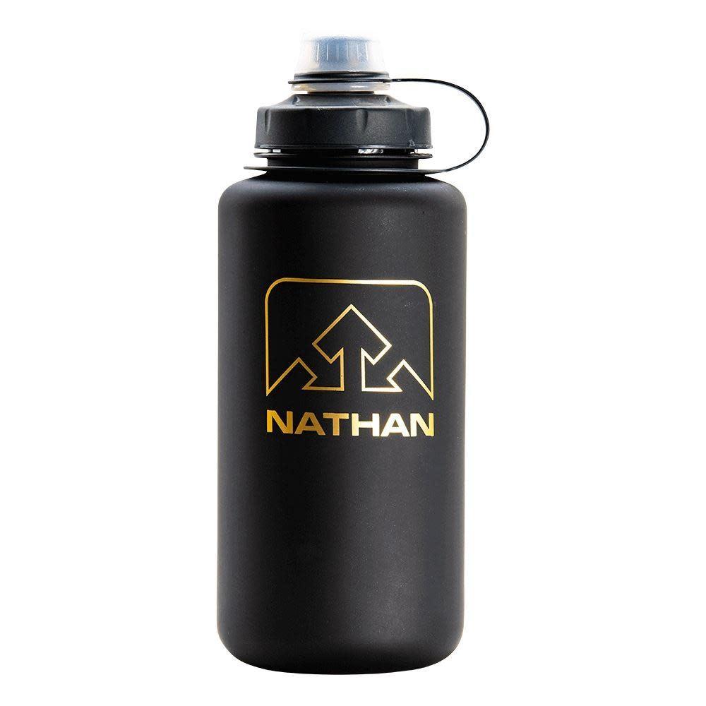 Nathan BigShot 1 Liter Bottle Black/Gold