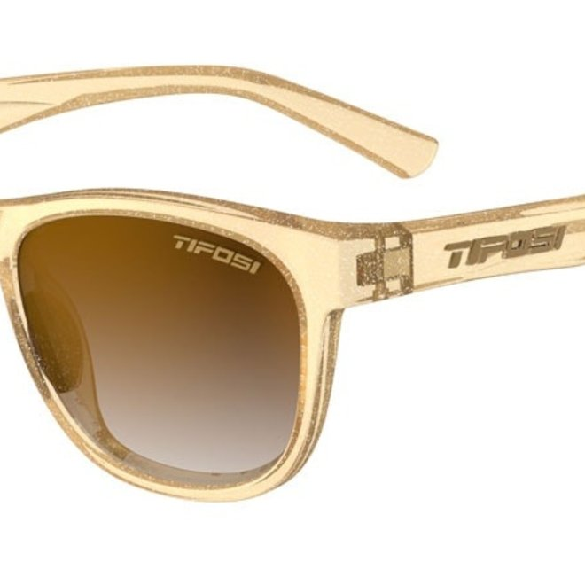 Swank Glitter, Gold Shine Single Lens Sunglasses