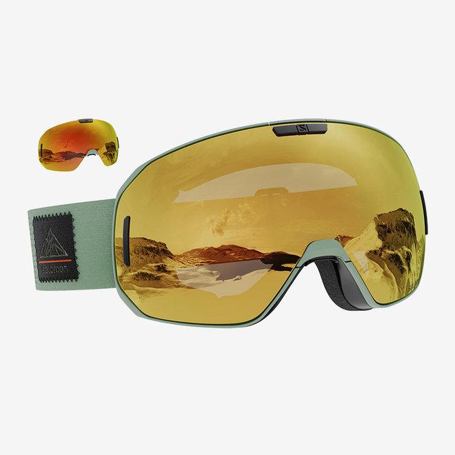 Goggles S/Max Oil Green/Solar Bronze