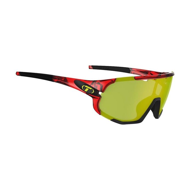 Sledge, Crystal Red Interchangeable Sunglasses