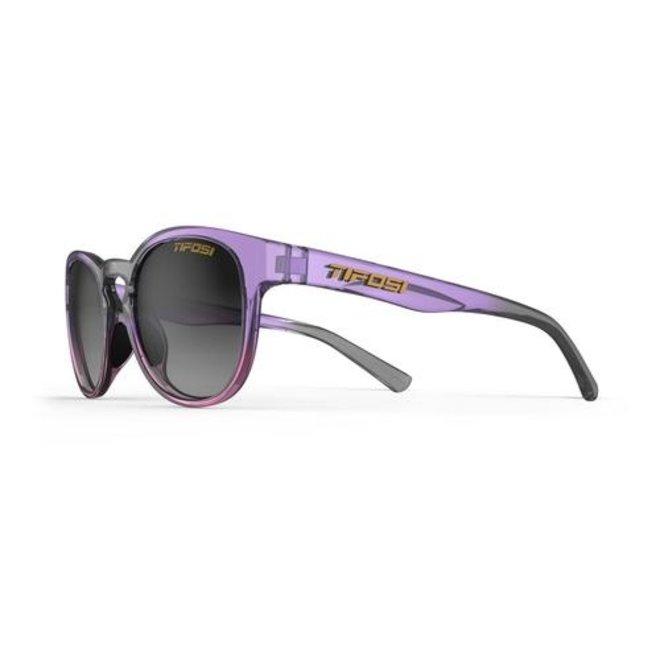 Svago, Crystal Peach  Blush Single Lens Sunglasses