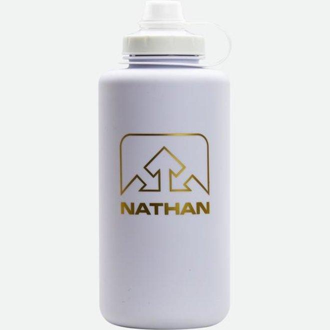 SuperShot Bottle - 1.5L, Clear/White/Gold