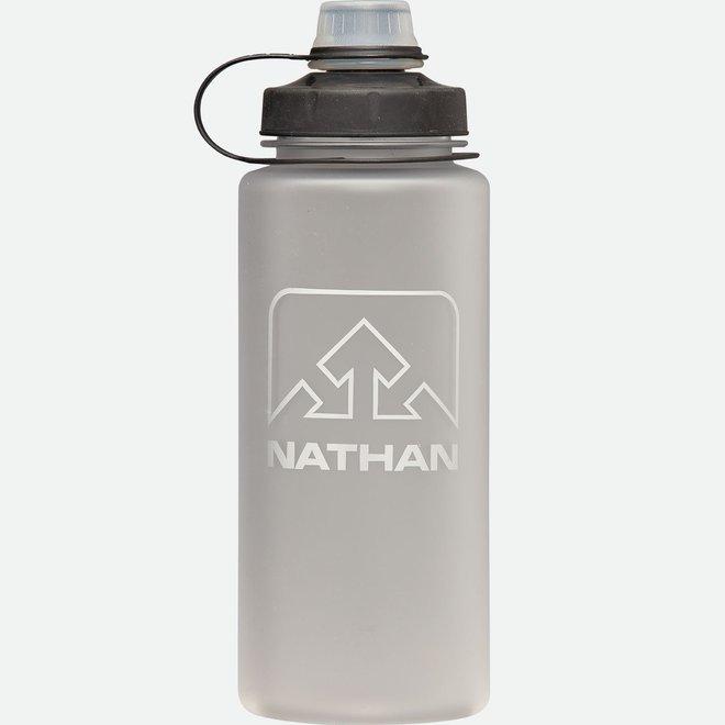 LittleShot 24 oz Bottle - Silver/White/Black Splatter