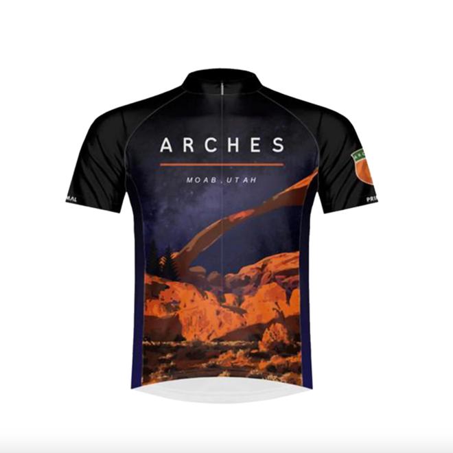 Arches National Park Men's Sport Cut Jersey