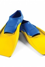 Finis Floating Fins Blue/Yellow 1-3