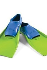 Finis Floating Fins Blue/Lime Green Jr 8-11