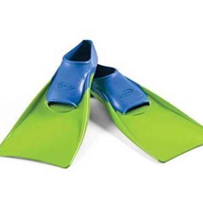 Floating Fins Blue/Lime Green Jr 8-11