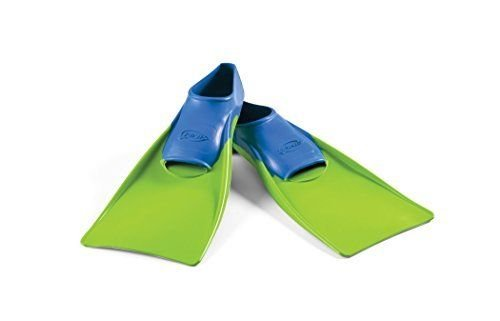 Floating Fins Blue/Lime Green Jr 8-11