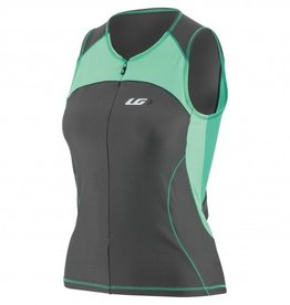 Louis Garneau WOMEN COMP SLEEVELESS TRIATHLON TOP SULFUR SPRING L
